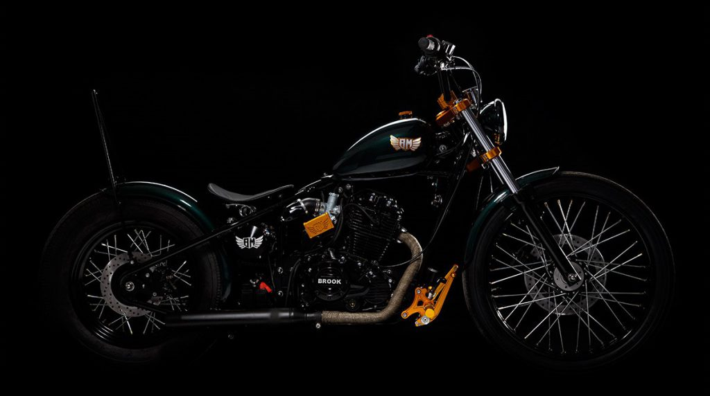 Brook Motorcycles - Mayhem Kustomz Bern-Zollikofen