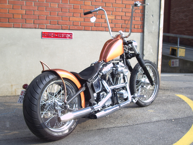 Fabio's Chopper by Mayhem-Kustomz.