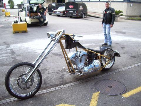 Peti's Chopper by Mayhem-Kustomz.