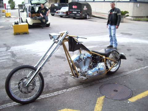 Peti's Chopper by Mayhem-Kustomz.