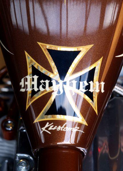 Radja's Chopper by Mayhem-Kustomz.