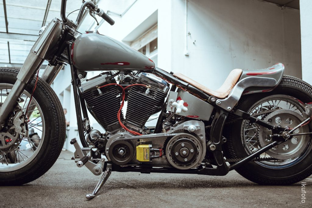 雀 SUZUME Chopper by Mayhem-Kustomz Switzerland