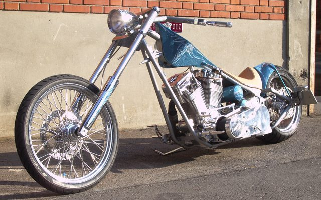 Lui's Chopper Bike by Mayhem-Kustomz.